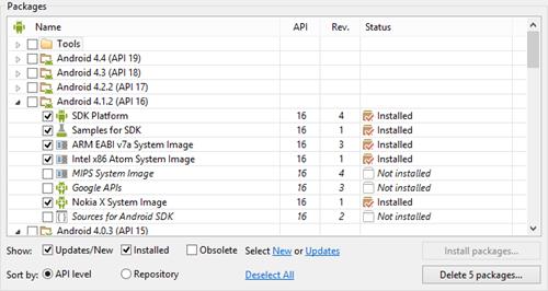 Nokia-X-API16-Install