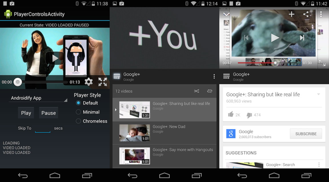 YouTube Android Player for Xamarin Android – Nish Anil