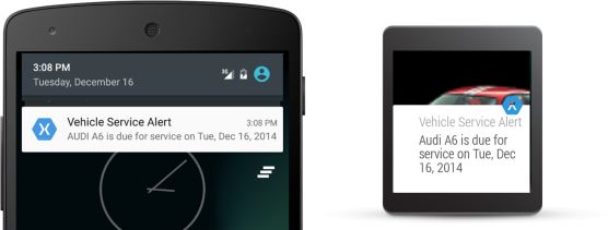 Notification-Android-Wear